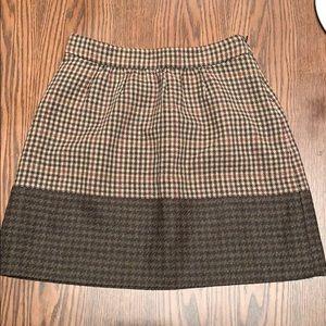 J.Crew Mini Sweater Skirt Size 00